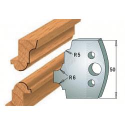 Комплекты ножей и ограничителей серии 690/691 #542 CMT Ножи и ограничители для фрез 50 мм Ножи